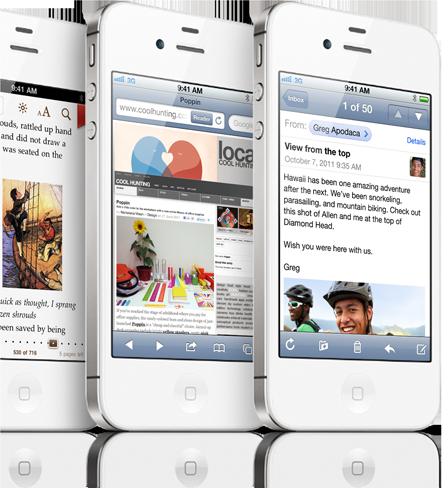Tela Retina do iPhone 4S