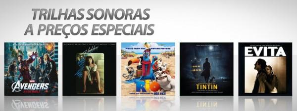 Trilhas sonoras a preços especiais na iTunes Store