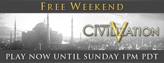 Civilization V de graça no Steam