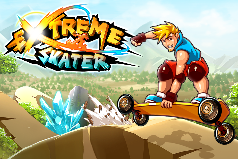 Extreme Skater - iPhone