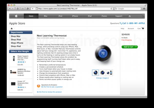 Nest na Apple Online Store