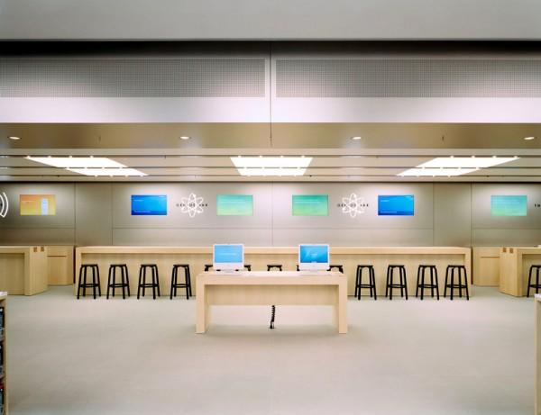Piso de uma Apple Retail Store