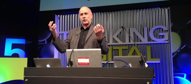 Ken Segall palestrando