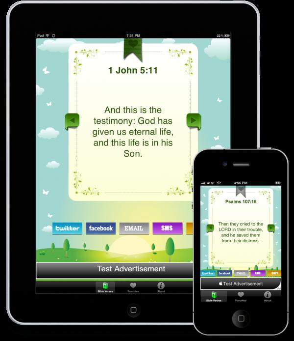 Versículos - iPad e iPhone