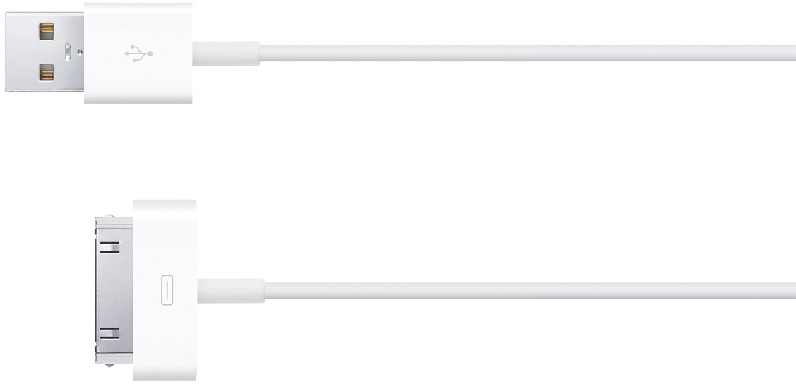 Cabo USB/30 pinos, da Apple
