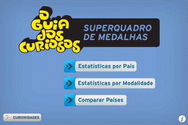 O Guia dos Curiosos - Superquadro de Medalhas para iPhone