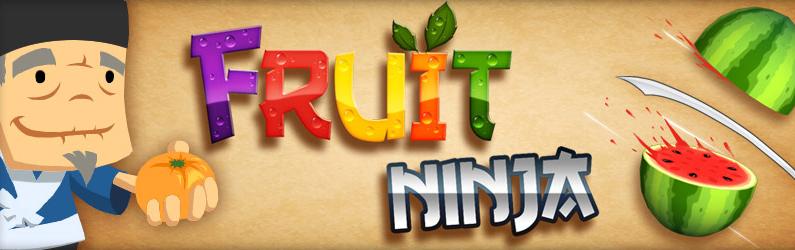 Banner de Fruit Ninja