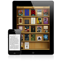 iPad e iPhone rodando iBooks (miniatura)