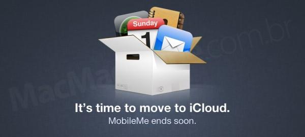 Página do MobileMe