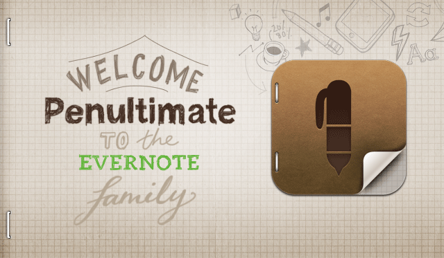 Evernote adquiri app Penultimate
