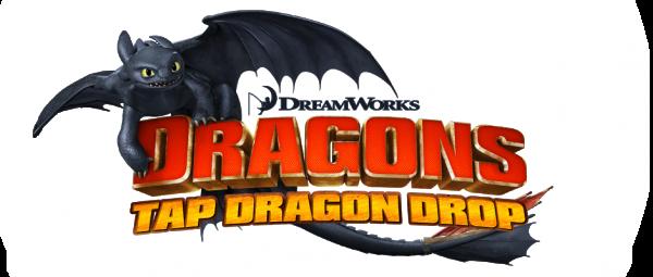 Banner do DreamWorks Dragons: TapDragonDrop