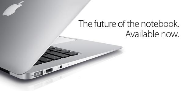 Slogan do MacBook Air