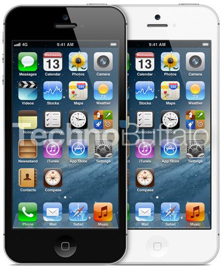 Mockup/protótipo de novo iPhone mais alto, com tela de 4 polegadas
