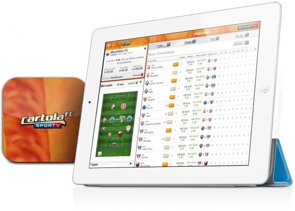Cartola FC - iPad