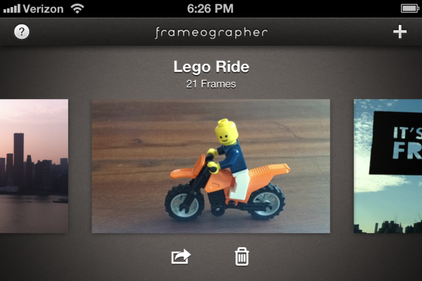 Frameographer - iPhone