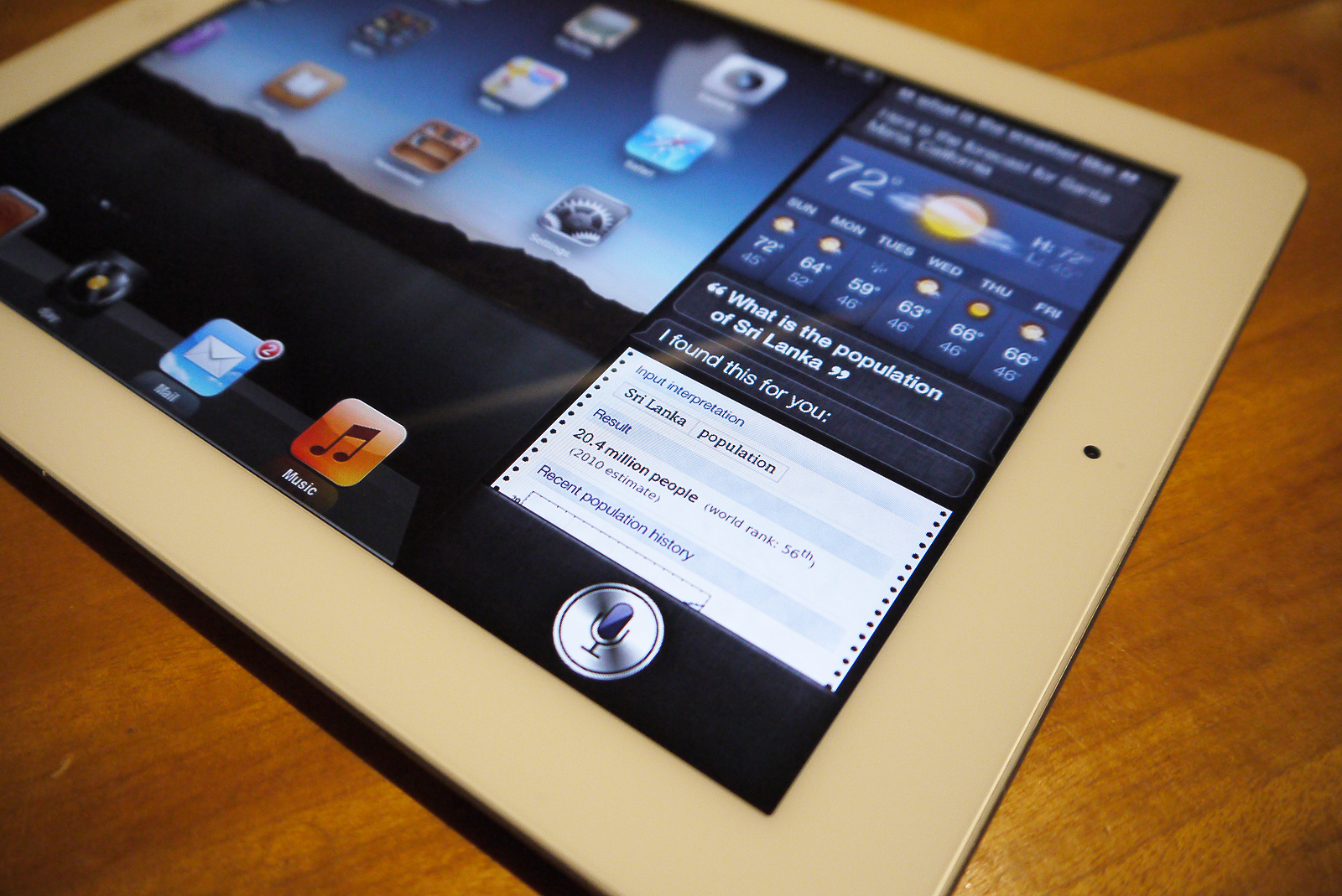 Conceitos da Siri no Mac e no iPad
