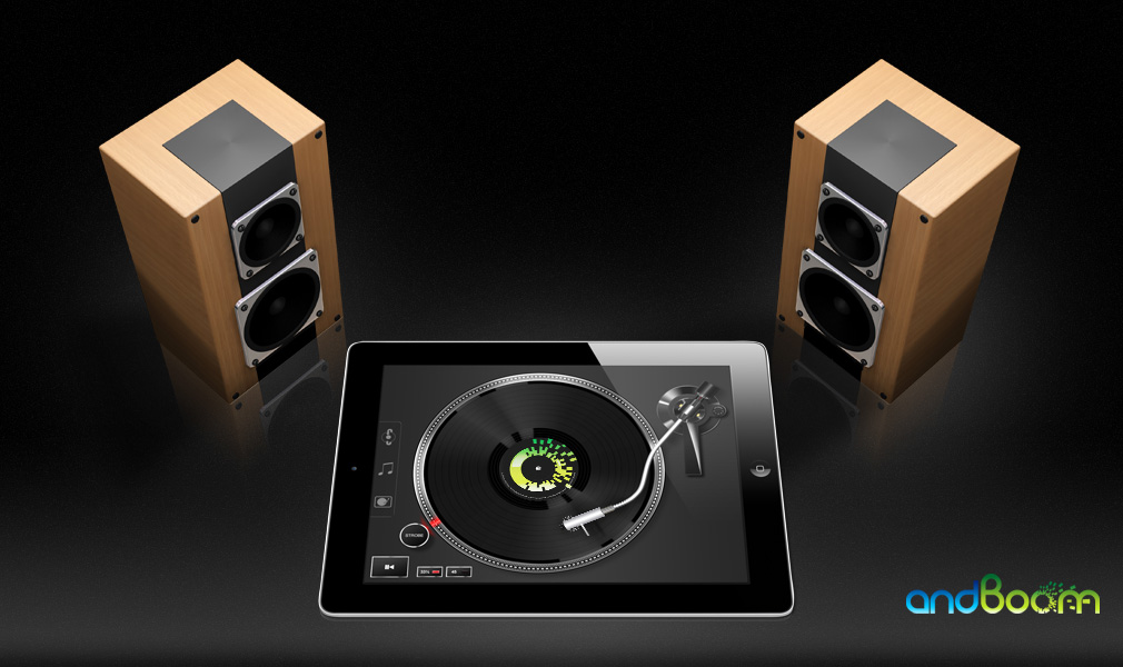 Vinyl Tap para iPad