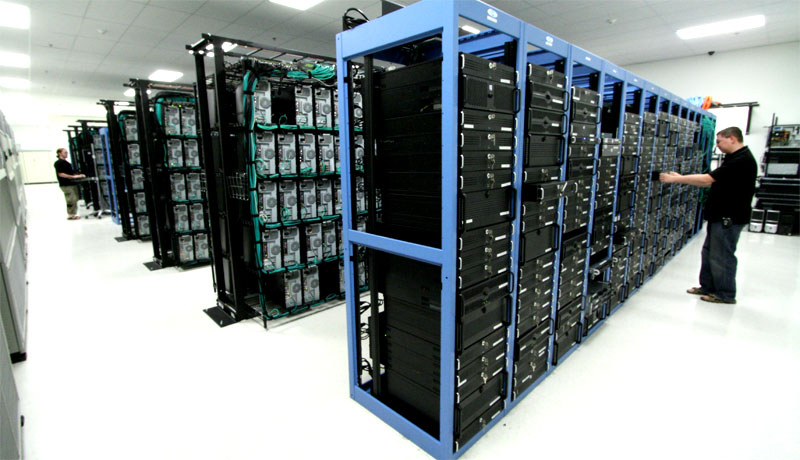 Servidores na Liquid Web (data center)