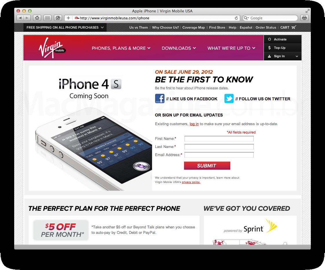 iPhone na Virgin Mobile