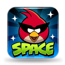 Ícone - Angry Birds Space para Mac