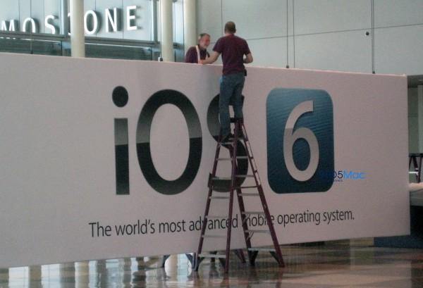 Banner do iOS 6 no Moscone