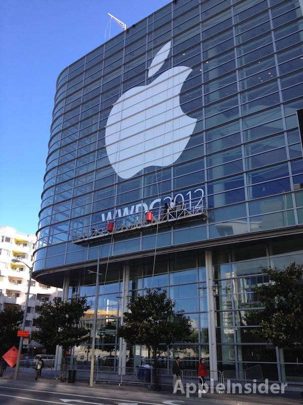 Parte externa do Moscone Center