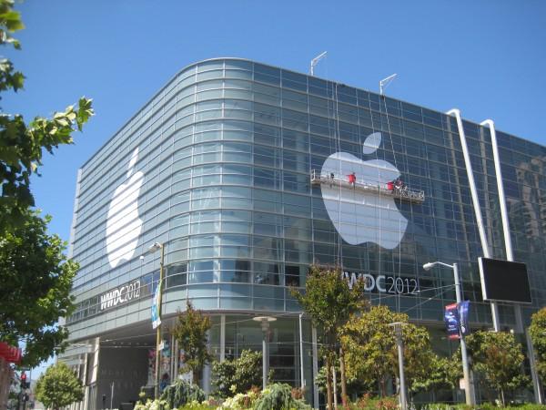 Moscone Center pronto para a WWDC 2012