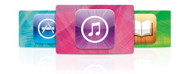 Gift Cards (iTunes Store, App Store e iBookstore)