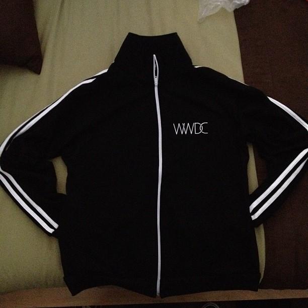 Jaqueta da WWDC 2012
