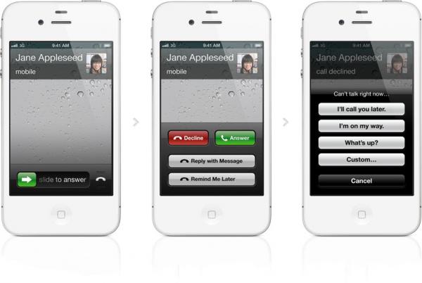 Recebendo ligações no iPhone - iOS 6