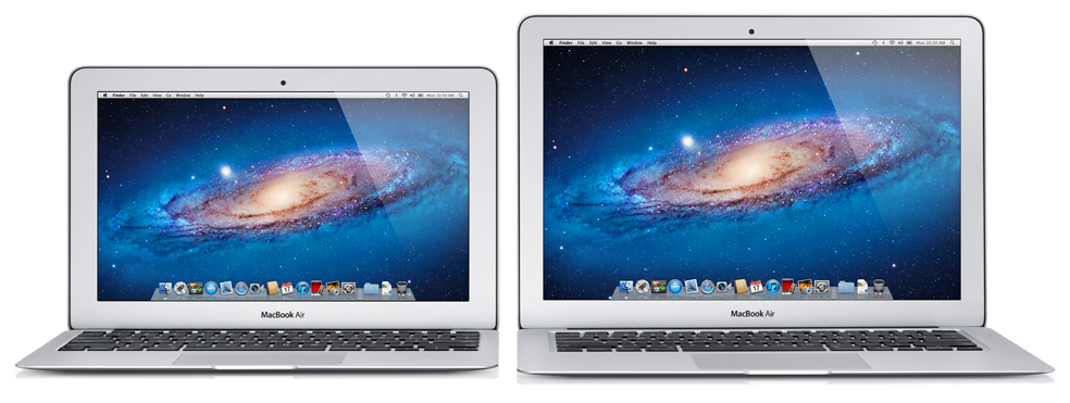 MacBooks Air (Mid 2012) de 11 e 13 polegadas