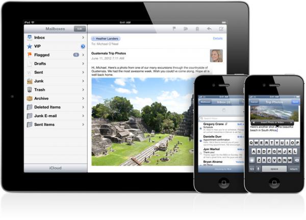 Mail no iOS 6