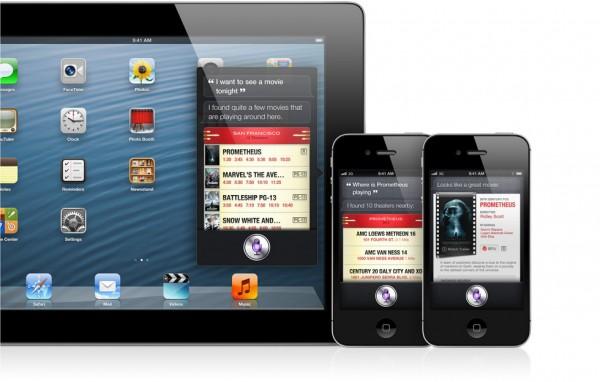 Siri e filmes, no iOS 6