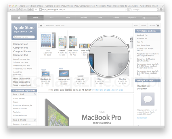 Selo de novo no Mac Pro