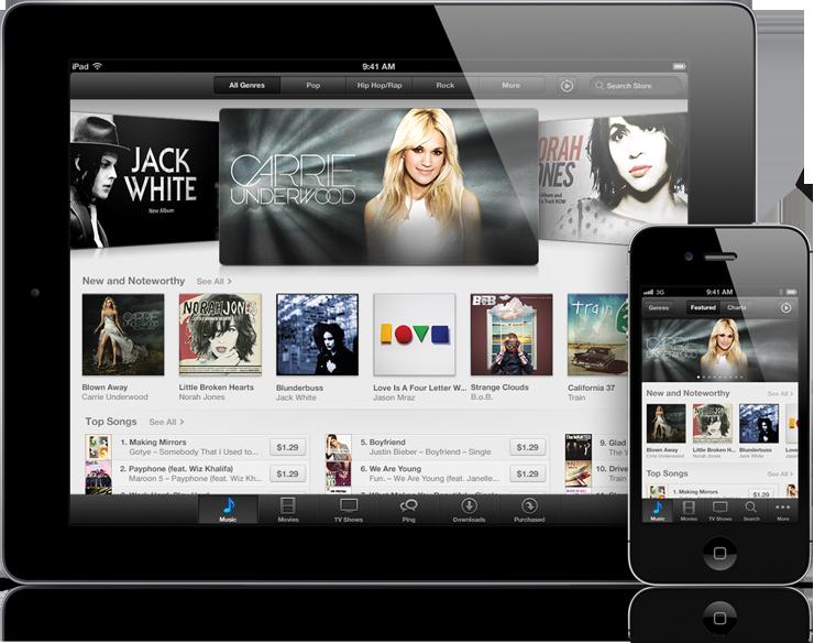 App Stores redesenhadas em iPad e iPhone