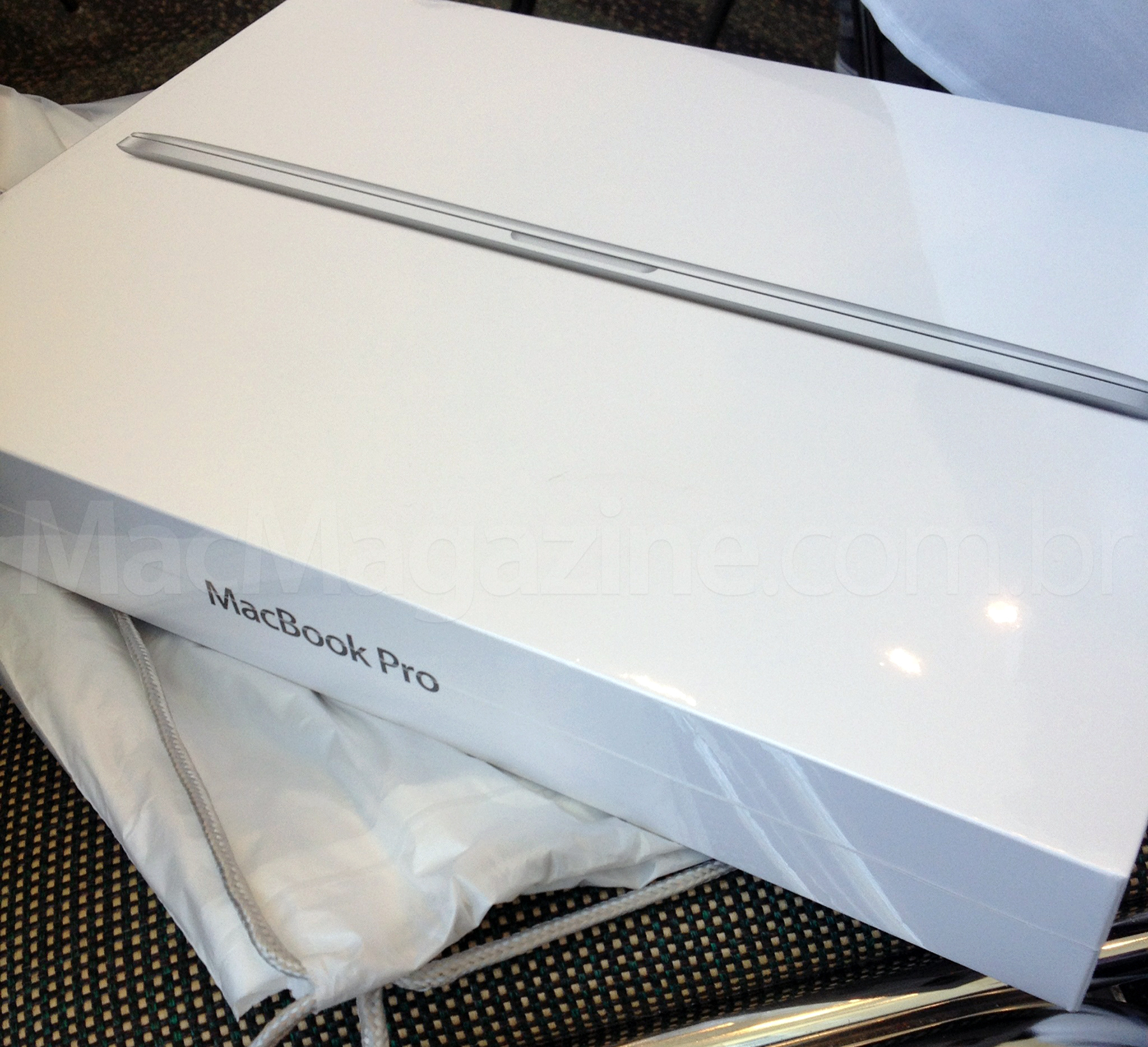 Unboxing do novo MacBook Pro
