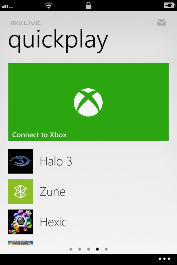 My Xbox LIVE - Controle no iPhone
