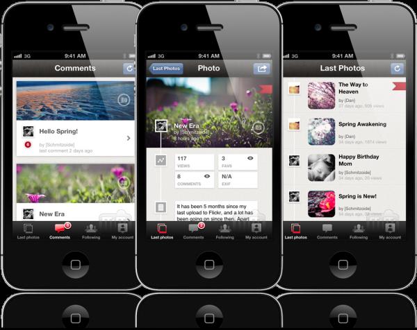 FlickrBoard - iPhones