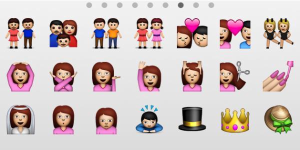 Novos ícones Emoji