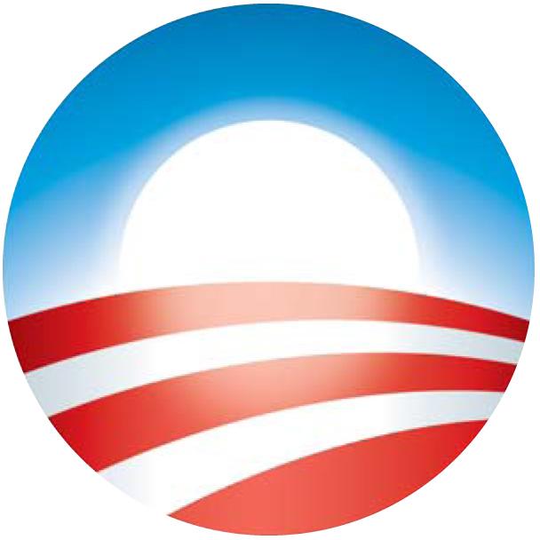 Logo da campanha de Obama