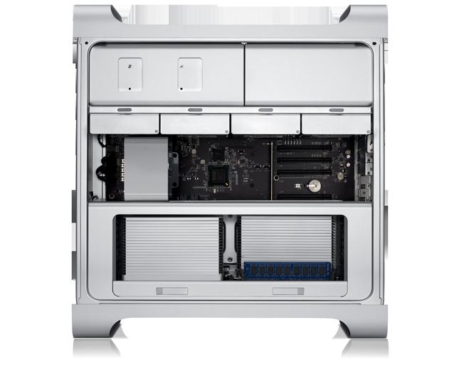 Mac Pro visto de lado