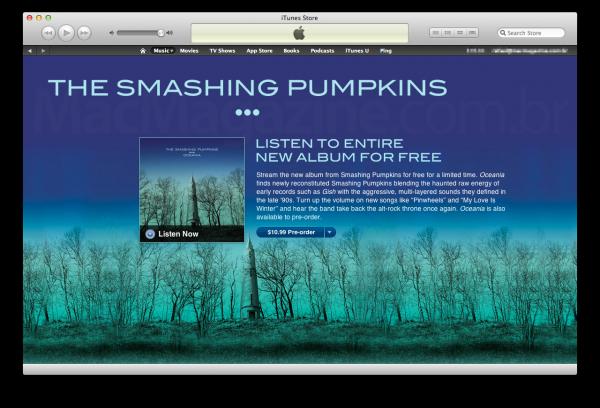 Smashing Pumpinks na iTunes Store