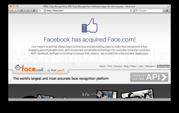Facebook compra a Face.com