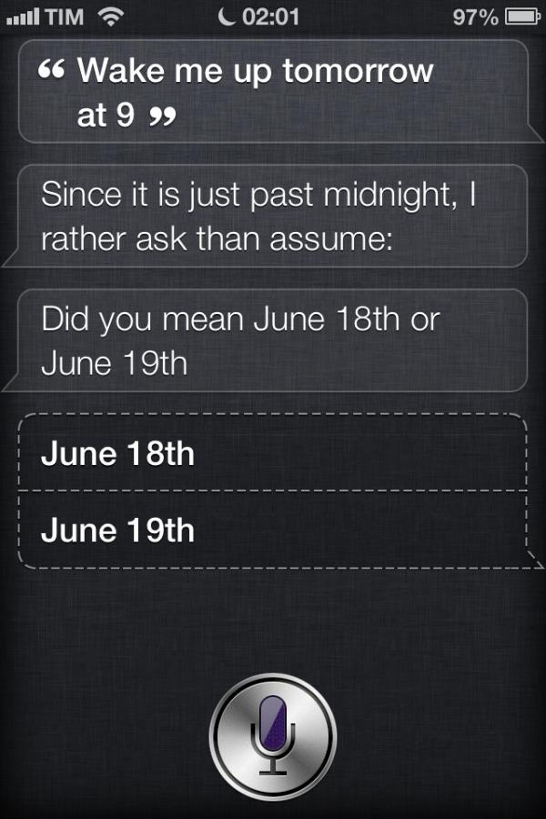 Siri esperta no iOS 6