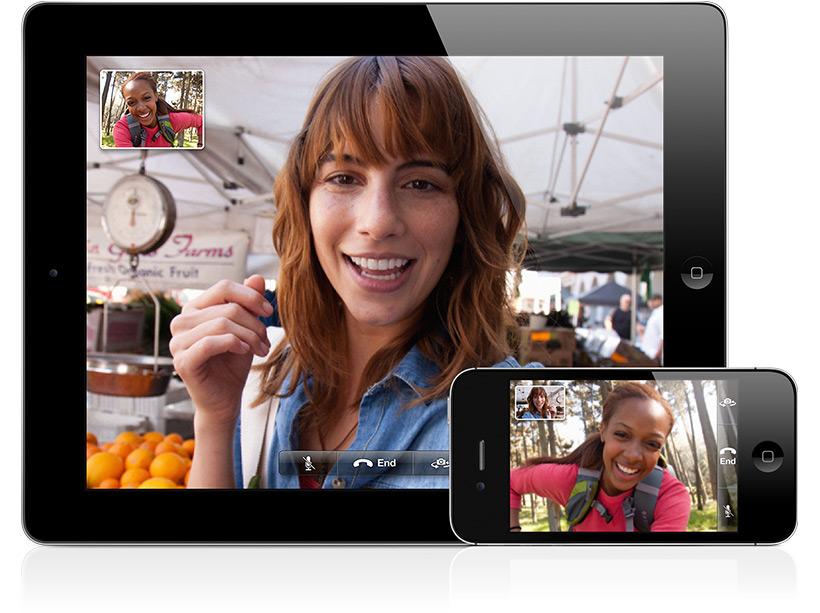 FaceTime em iPad e iPhone