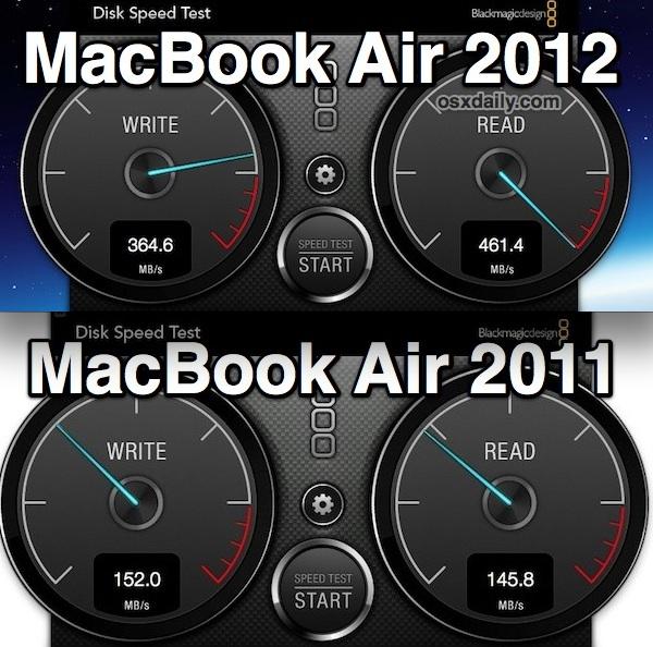 SSD dos novos MacBooks Air