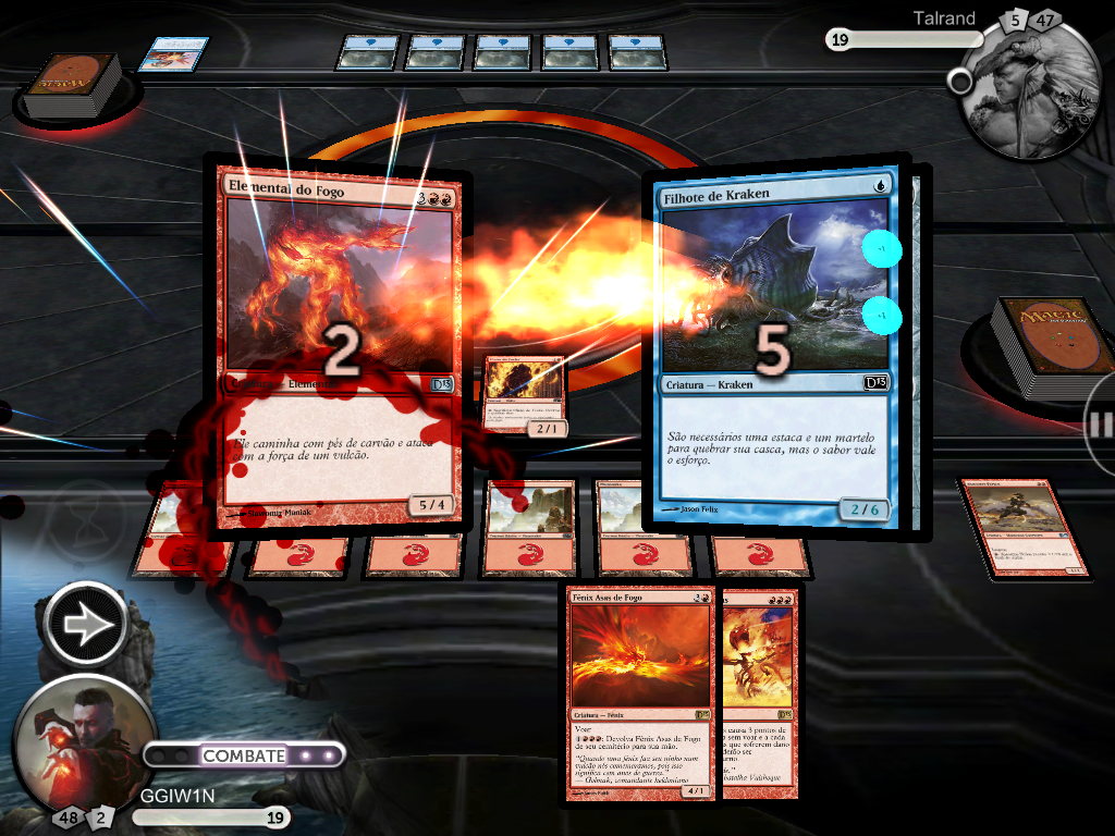Magic: The Gathering no iPad