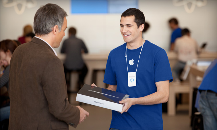 Empregado de Apple Retail Store