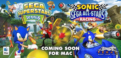 Jogos do Sonic (SEGA) chegando para Mac