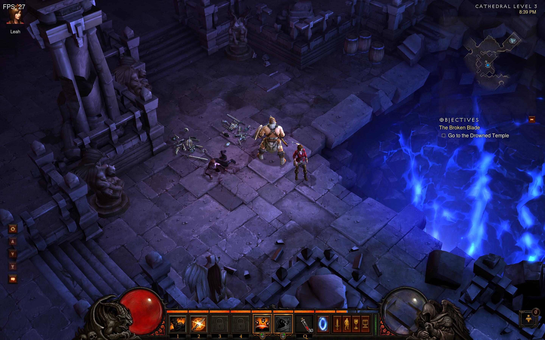 Diablo III em tela Retina